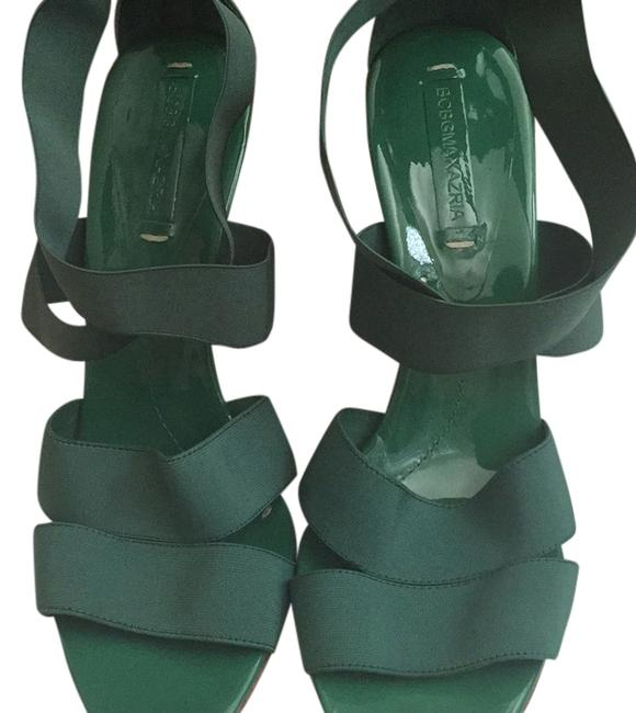 Item - Kelly Green Special Sale Bcbg Sandals Size US 10 Regular (M, B)