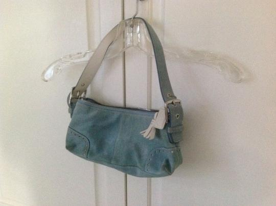 Coach Suede Hobo Bag