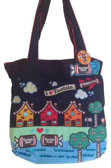 Preload https://item2.tradesy.com/images/loungefly-tootsie-roll-blue-tote-5484316-0-2.jpg?width=440&height=440