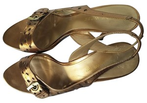 Nine West Bronze Sandals