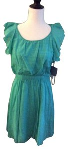 Marc New York short dress aqua Summer Cotton Daytime on Tradesy