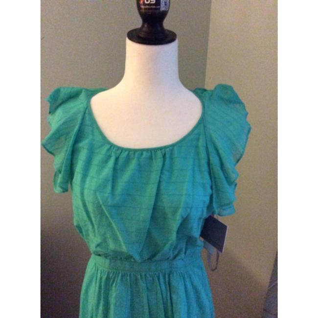 Marc New York short dress aqua Andrew Summer Cotton Daytime on Tradesy