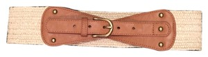 Ann Taylor LOFT Medium tan and jute belt