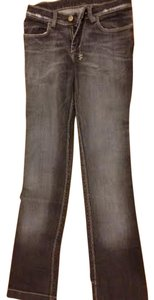 Tsubi Distressed Acid Wash Skinny Leg Stretch Skinny Jeans-Distressed