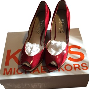 Michael Kors Cinnabar (red) Wedges