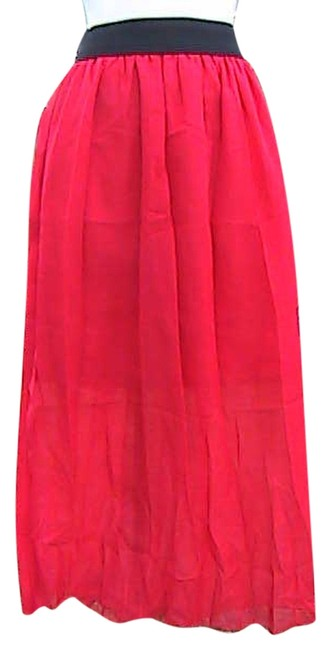Other W/O Tag Dress Maxi Skirt Red