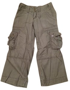 Abercrombie & Fitch Cargo Hipster Cargo Pants Olive green