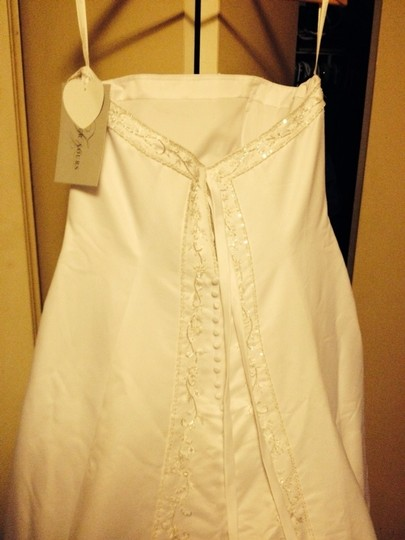 Forever Yours White Wedding Dress Size 18 (XL, Plus 0x)