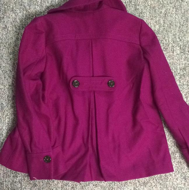 Banana Republic Winter Pink Pink Pea Coat