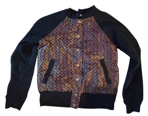 Urban Outfitters Black w/Paisley Jacket