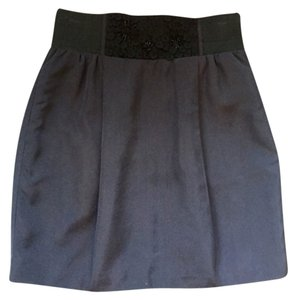 Forever 21 Mini Skirt Navy