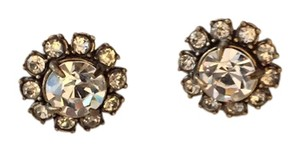 J.Crew Jcrew Rhinestone Cluster Earrings