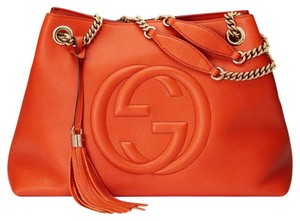 Gucci Tote in Sun Orange