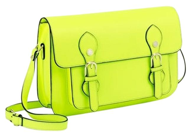 Item - By Neon Yellow Synthetic Cross Body Bag