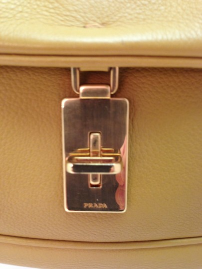Prada Leather Chainmail Clutch Baguette