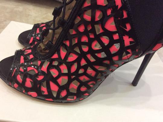Jimmy Choo Plack/pink Boots