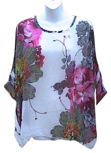 Other Brand New W/o Tag Chiffon Top Floral