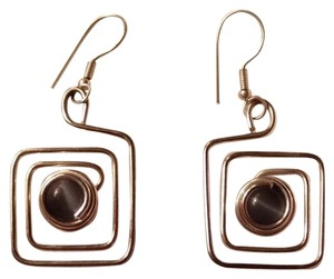 Corning glass museum Sterling Silver Earrings