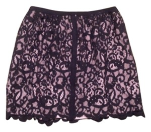 Banana Republic Mini Skirt Black lace