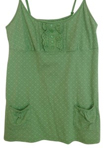Aéropostale Top Green/White