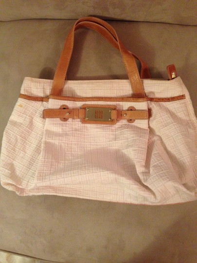 Givenchy Monogram Leather Tote in Pink