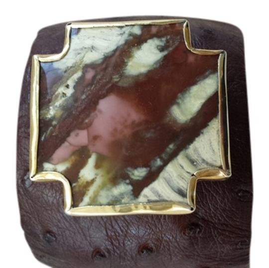 Preload https://img-static.tradesy.com/item/548794/brown-multi-earth-tones-new-stunning-leather-cuff-bracelet-0-0-540-540.jpg