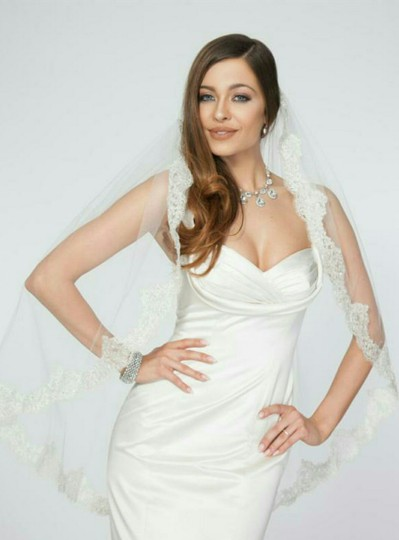 Medium Length Bridal Veil