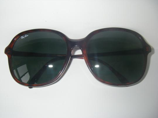 Ray-Ban Ray-Ban W0344 Sunglasses Bausch & Lomb USA B&L Tortoise Frame Oversize Fashion G-15 Gray Lenses w/Case