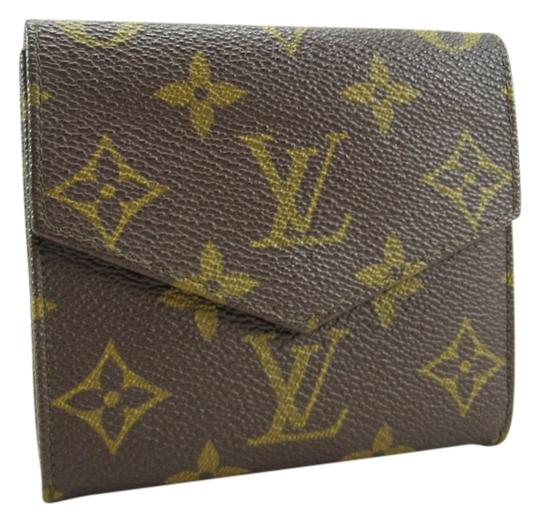 Preload https://item1.tradesy.com/images/louis-vuitton-brown-snapped-billfold-coin-purse-monogram-vintage-wallet-548875-0-0.jpg?width=440&height=440