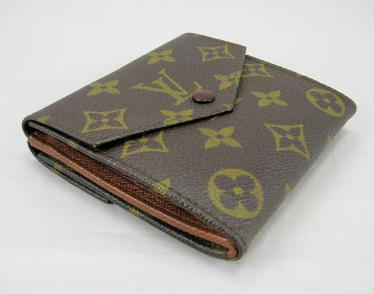 Louis Vuitton Snapped Billfold Coin Purse Monogram Vintage Wallet