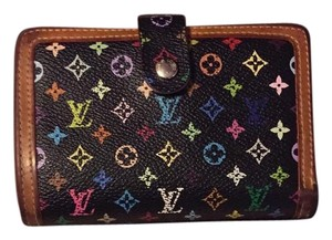 Louis Vuitton Louis Vuitton Multicolor French Wallet - Black