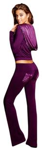 Beach Bunny (ALL SIZES S, M, L, XL)Beach Bunny Unzip Me Hoodie & Pant Lounge Set Plum Purple