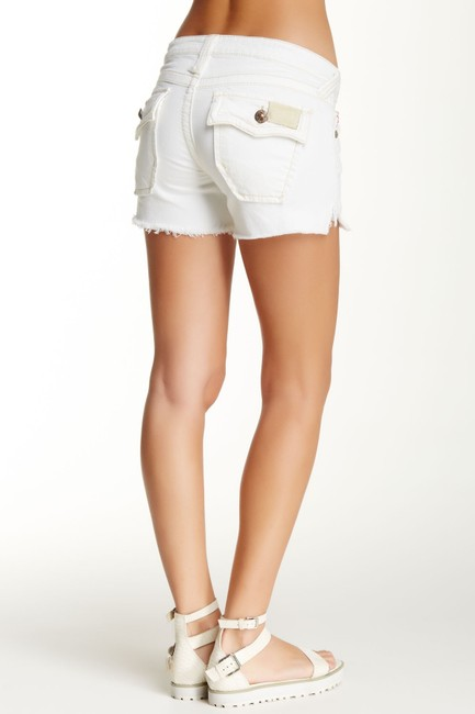 Love Stitch Cut Off Shorts