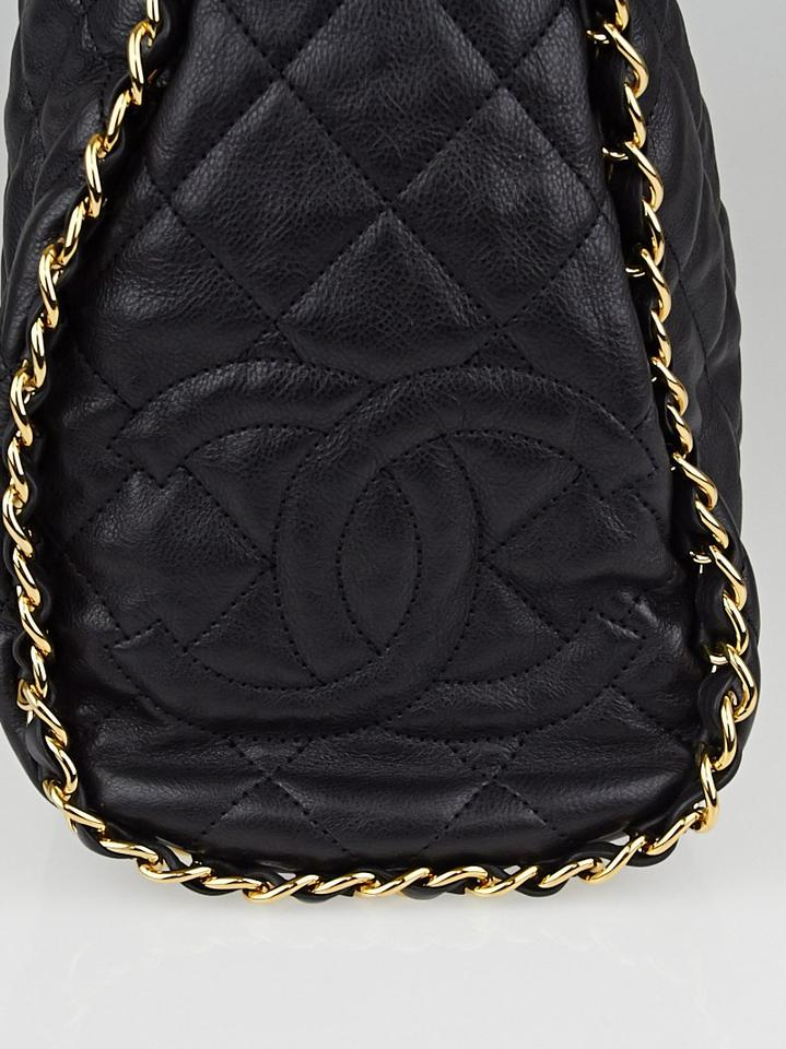 f88ec2c19d75 Chanel Hobo Jumbo Quilted Ultimate Soft Chain Around Tote Black Catfish Leather  Shoulder Bag - Tradesy