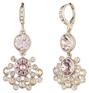 Givenchy Givenchy Double Drop Crystal Earrings
