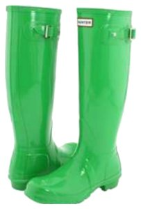 Hunter Kelly green Boots