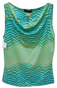 Cheroy Top blue, green, yellow