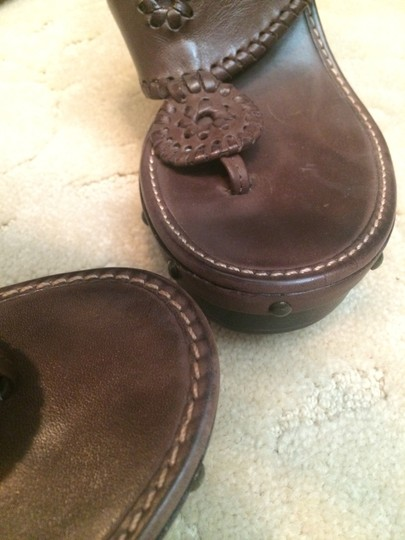 Jack Rodgers Brown, Gold Wedges