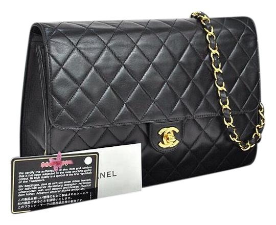 Preload https://item3.tradesy.com/images/chanel-classic-flap-quitled-two-ways-black-lamb-skin-leather-shoulder-bag-5490697-0-2.jpg?width=440&height=440