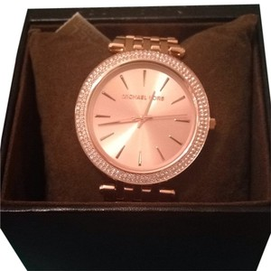 Michael Kors Rose Gold MK watch