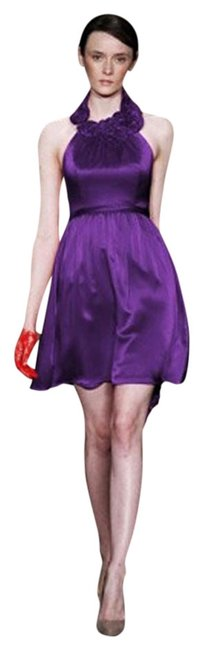 Item - Grape Ms428 By Above Knee Cocktail Dress Size 2 (XS)