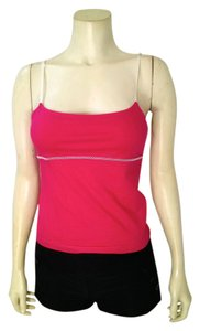 A|X Armani Exchange Size Small Stretchy Adjustable P1661 Top dark pink, white