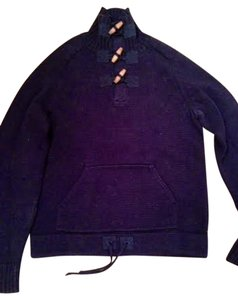 Ralph Lauren Toggle Elbow Patches Kangaroo Pocket Sweater