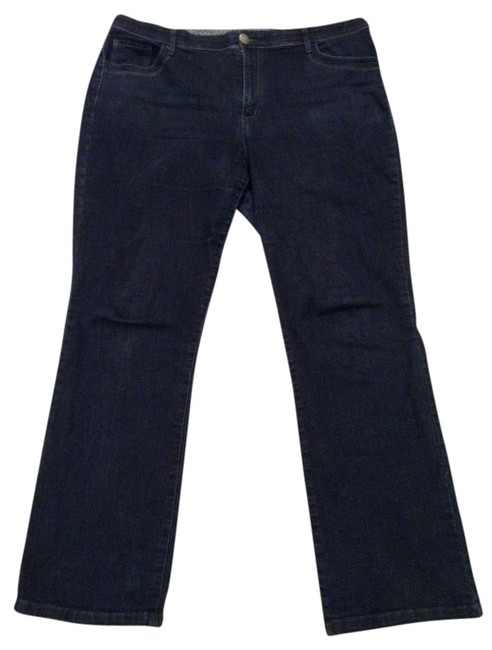 Item - Denim Dark Rinse Relaxed Fit Jeans Size 16 (XL, Plus 0x)