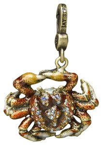 Jay Strongwater jay strongwater Swarovski Crystal And Enamel Crab Charm Jay Strongwater CADY CRAB CHARM