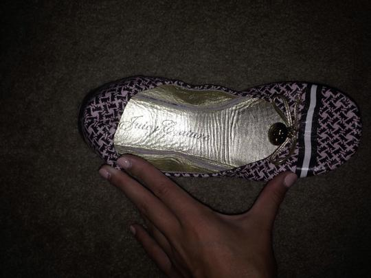 Juicy Couture Pink and Brown Flats
