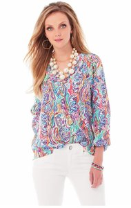 Lilly Pulitzer Top What a catch