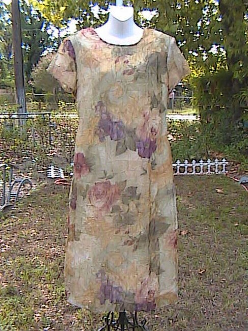 Floral Maxi Dress by Other 2 Pc Attire