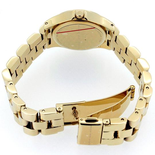Marc Jacobs Marc Jacobs Henry Women Watch MBM3270 Dot Dial Gold Tone Steel Red Accents