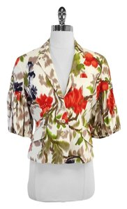 Paul Smith Multi Color Floral Print Jacket